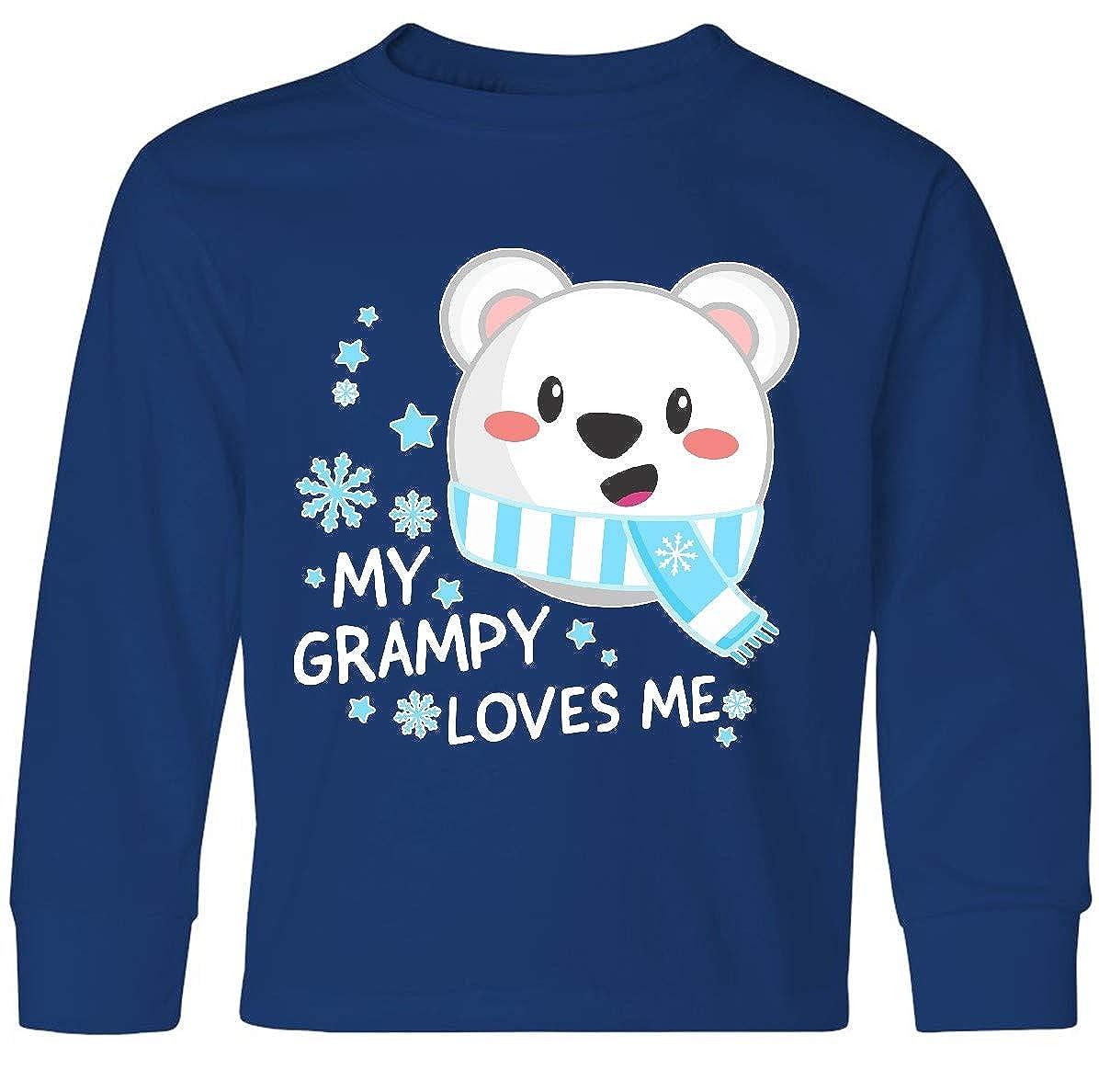 inktastic My Grampy Loves Me Polar Bear Baby T-Shirt
