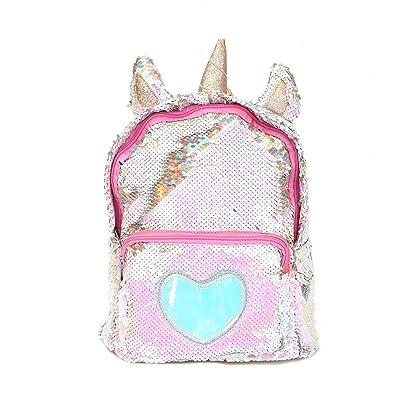 Starte PU Bling Toddler Unicorn Backpack