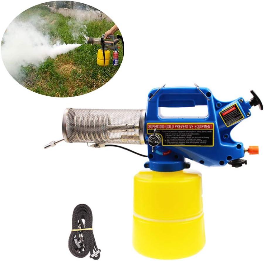 YDYL-LI 2L Micro Portátil Killing Agrícola De Plagas Pulverizador, Eficiente Niebla Máquina De Gas Pulverizador, Máquina De Humo Térmica para El Deshierbe Agrícola, Insecticida Y Desinfección