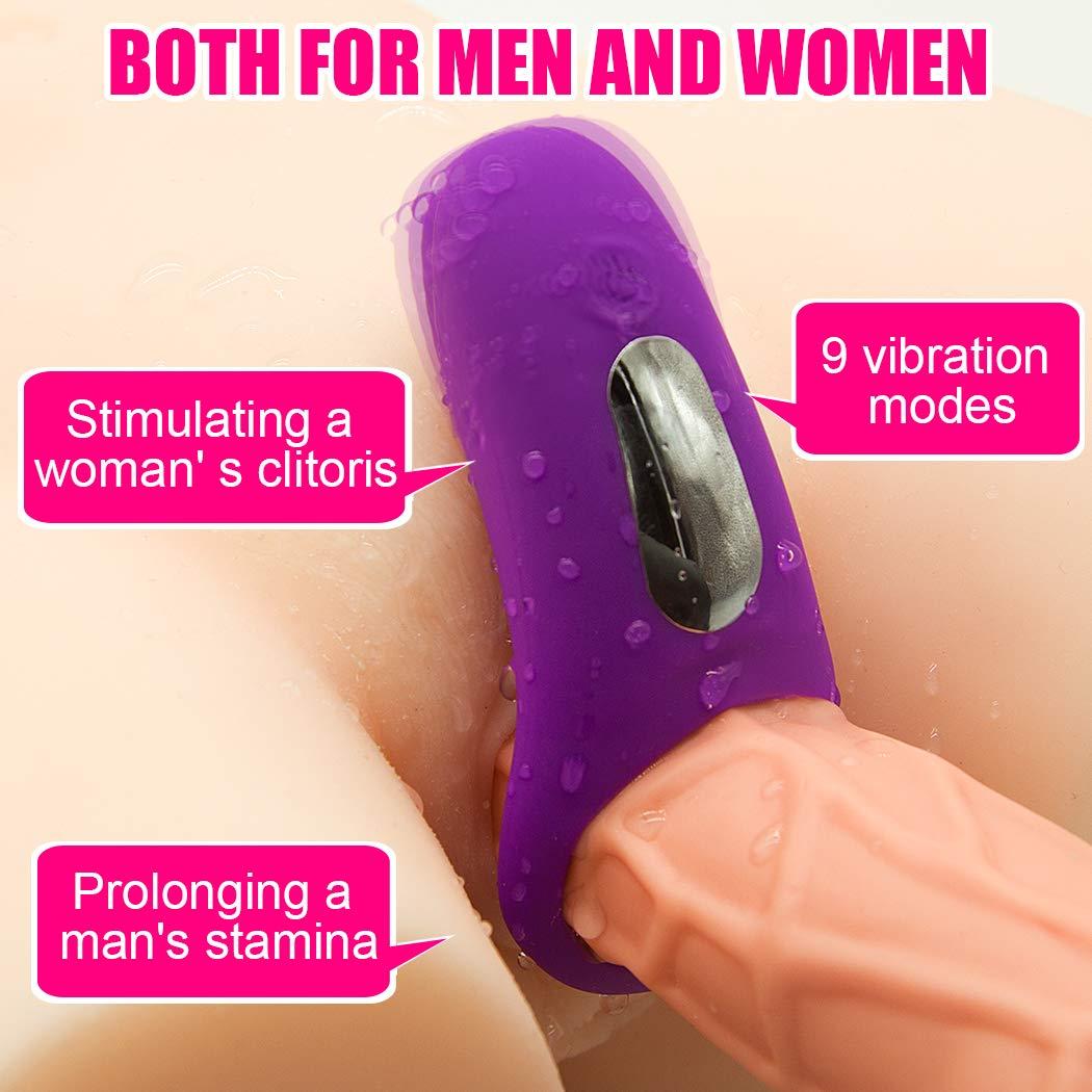 Yishunmaoyi Men Vibration Collars Delay Lock Fine Ring by yishunmaoyi (Image #6)