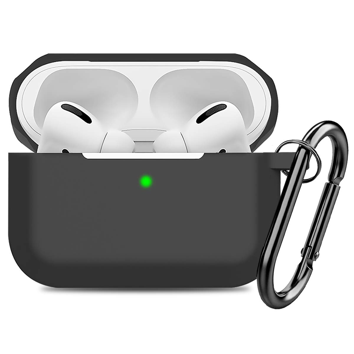Compatible AirPods Pro Case Cover Silicone Protective Case Skin for...