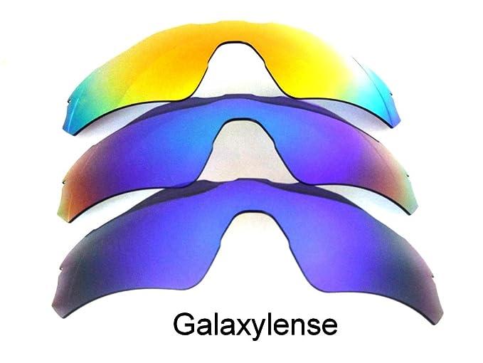 Galaxia Lentes De Repuesto Para Oakley Radar EV Path azul, verde y Rojo Polarizado 3