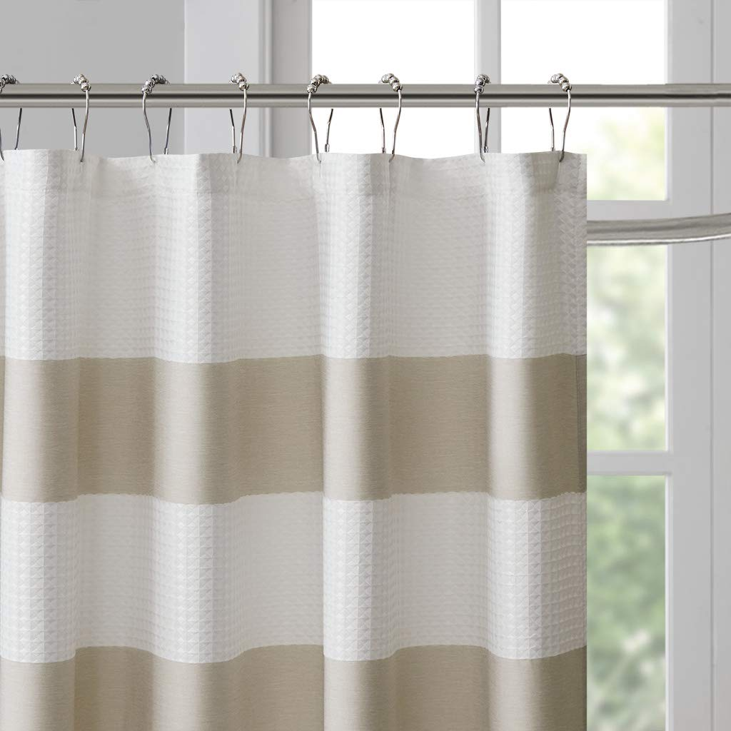 Madison Park Spa Waffle Shower Curtain by Madison Park (Image #3)