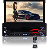 EinCar Android Radio 7 inch Single Din Car Stereo Bluetooth 1Din Capacitive Touchscreen Car DVD CD Player GPS Navigation…