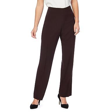 ae29555d7340 Debenhams - Pantalon - Femme marron chocolat - marron -  The ...