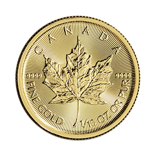 2016 Canada Gold Maple Leaf (1/10 oz)