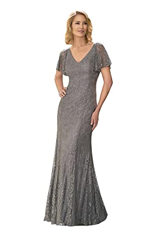 Kelaixiang Lace Mother Of The Bride Dresses Straight Long Gown 2