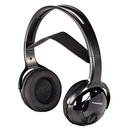 Thomson WHP1211 - Auriculares inalámbricos (32 Ohm, alcance 10 m, jack stereo 3.5