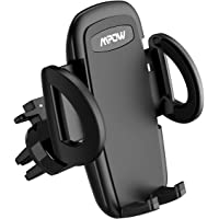 Mpow Car Phone Holder, Air Vent Phone Mount with 3-level Adjustable Clamp 360° Rotation In Car Mount for iPhone Xs MAX/XS/XR/X/8s/8/7/6 Plus, Galaxy S9/S8/S7, P20, LG, HTC & Smartphones