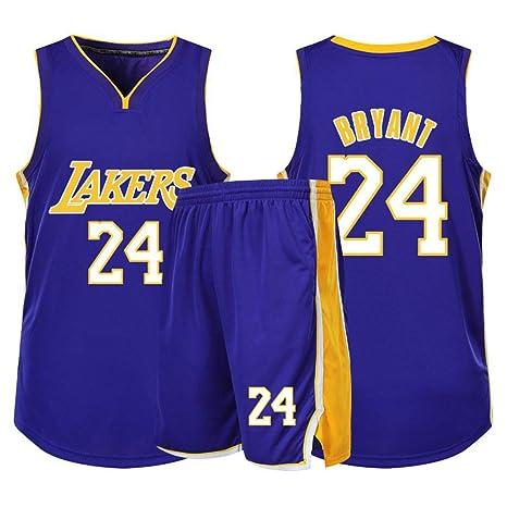 Y&J Los Ángeles Lakers Baloncesto Jersey James Bryant Baloncesto ...