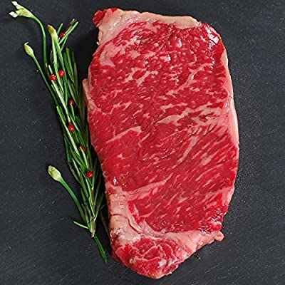 Australian Wagyu Beef Strip Loin, MS5, Whole, Cut To Order - 13 lbs, 1 1/4-inch steaks