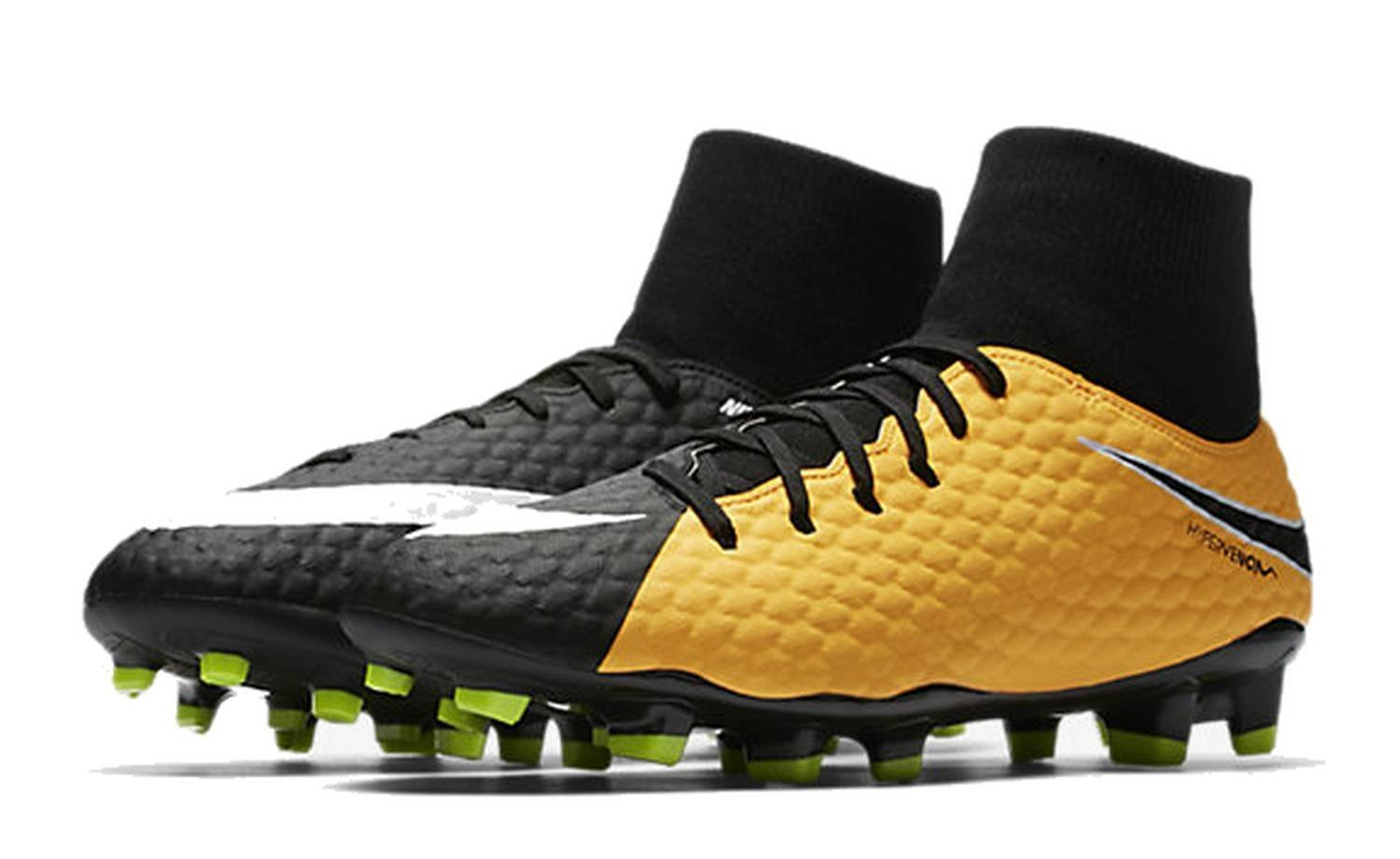 Nike Hypervenom Phelon 3 DF FG Mens Football Cleats B00AU01I7E 9 D(M) US|Laser Orange Black White 801
