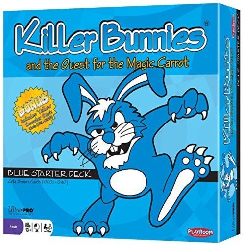 Killer Bunnies and the Quest for the Magic Carrot; Blue Starter Deck by Playroom Entertainment