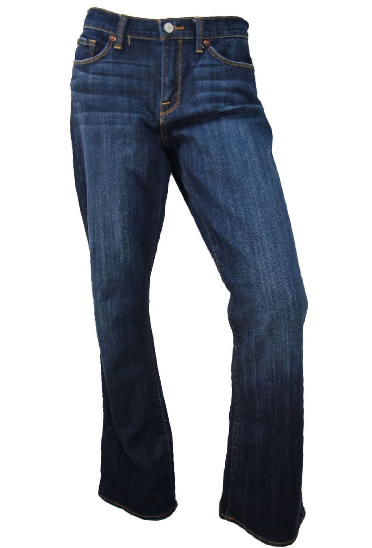 Lucky Womens Sofia Boot Cut Blue Jeans 6/28 Long
