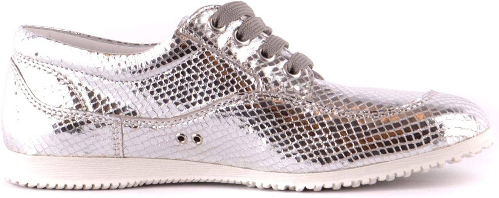 Luxury Fashion | Hogan Mujer MCBI37342 Plata Zapatillas | Temporada Outlet: Amazon.es: Zapatos y complementos
