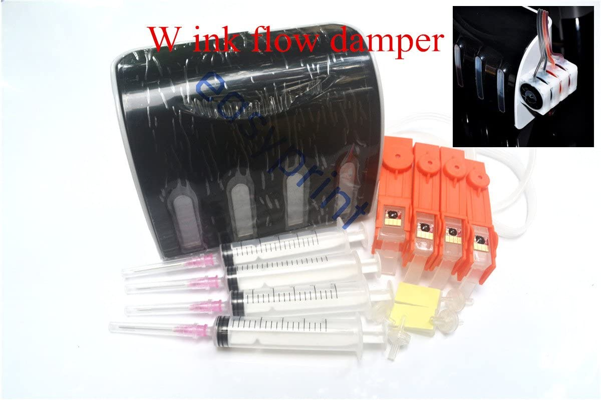 For HP685 cartridge HP Deskjet 3525 4615 4625 5525 6525 685 ink flow damper refillable ink supply CISS CIS cartridge Continuous system