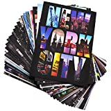 new york postcards - 30 Various NYC New York Collectible Photo Postcards 4x6 Inch