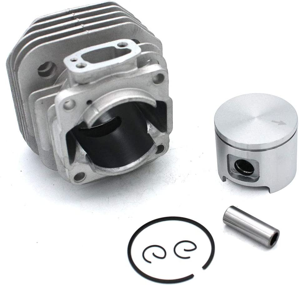 P SeekPro Conjunto de Kits de pist/ón de Cilindro 48 mm para Motosierra Husqvarna 61 PN 503532071 501533571 544222802