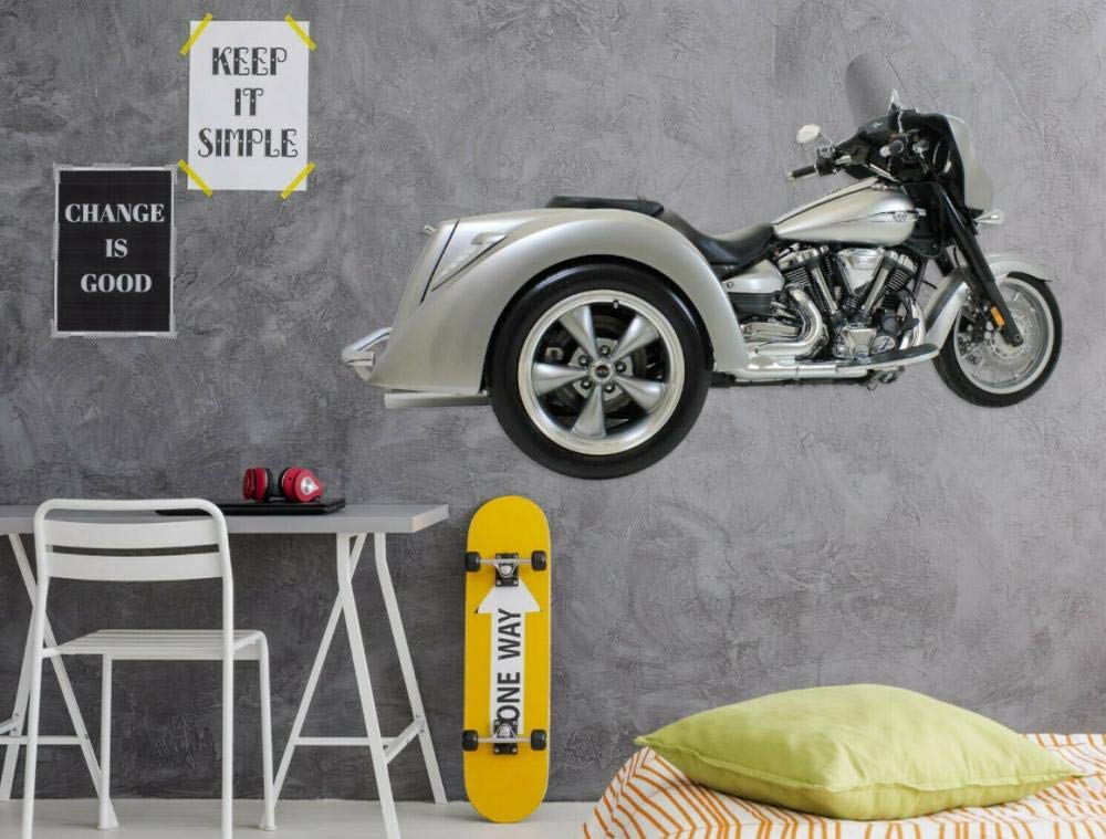 Motorcycle Driving Driver Image XXL WALL MURAL ART PRINT PHOTO POSTER p1137