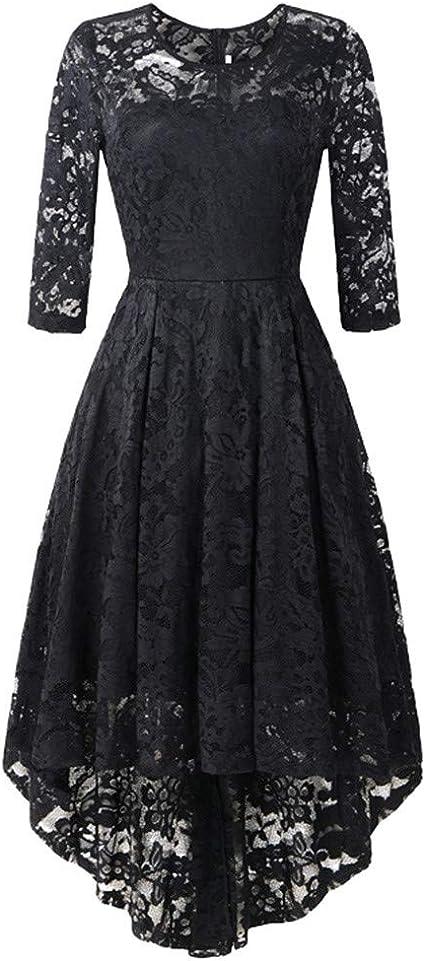 Sukienka damska, w stylu lat 50., rockabilly, koktajlowa, z długim rękawem, elegancka, na Boże Narodzenie, imprezę: Odzież