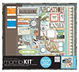 me & my BIG ideas Scrapbooking Kit, Our Travels, 12-Inch by 12-Inch