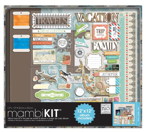 BIG ideas Scrapbooking Travels 12 Inch