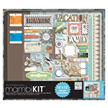 me & my BIG ideas 12-Inch x 12-Inch Scrapbooking Kit, Our Travels