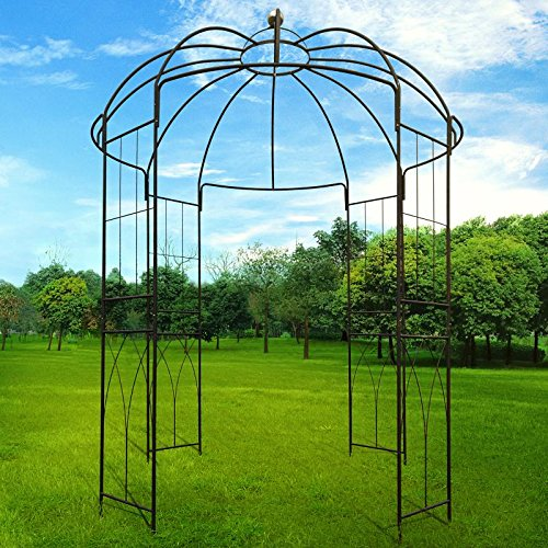 Outour french style birdcage shape heavy duty gazebo 9 for French style gazebo
