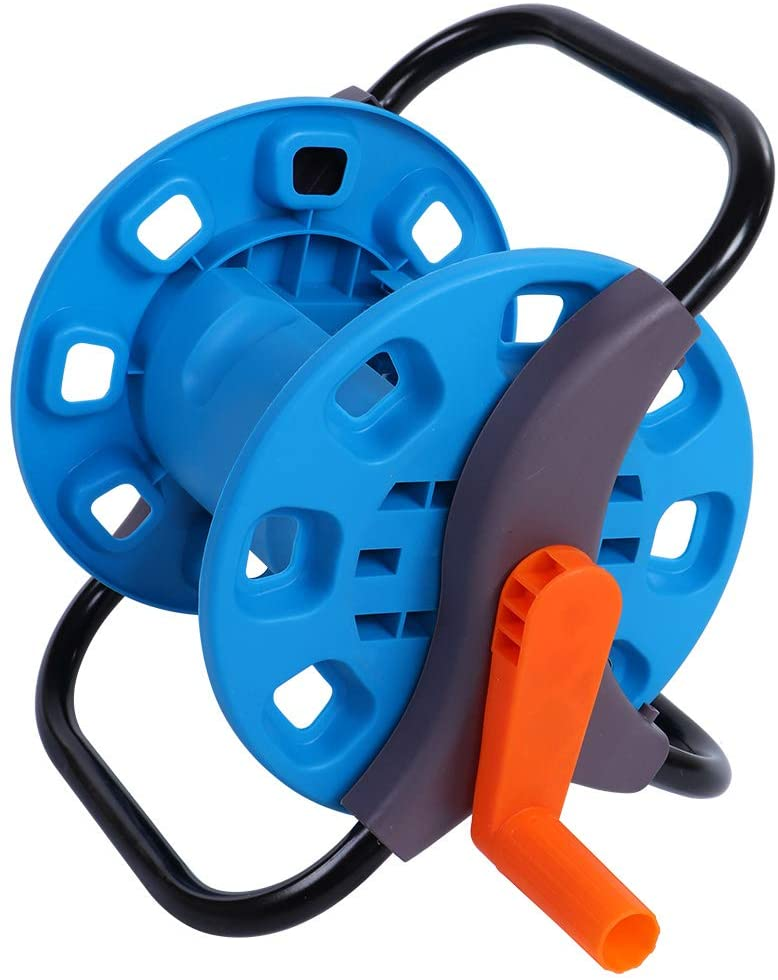 Water Pipe Hose Reel -Portable Garden Water Pipe Hose Reel Cart Outdoor Planting Hosepipe Organizer Can Be Used in Home Garden Roads Greenhouse