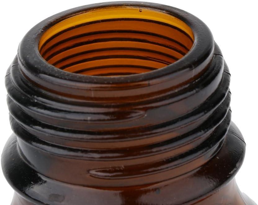 100 ml Braun H HILABEE Labs Reagenzflasche Borosilikatglas Mit Graduierung 100 250 500 1000ml