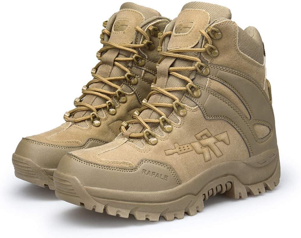 MalpyQ Desert High-Top-laarzen, grote Desert Army Fan tactische laarzen lichte vechtlaarzen militaire werklaarzen zand sZmhbhTz