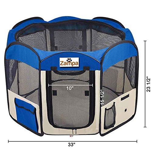 "Pet 45"" Playpen Foldable Portable Dog/Cat/Puppy Exercise"