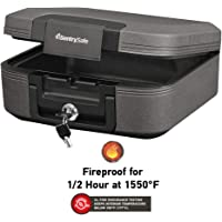 SentrySafe CHW20221 Fireproof Box & Waterproof Box with Key Lock