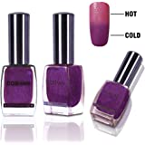 GOSMAN Temperature Color Changing Nail Lacquer Varnish Thermal Color Change Nail Art Polish Quick Dry 60 Seconds 15ML 15030