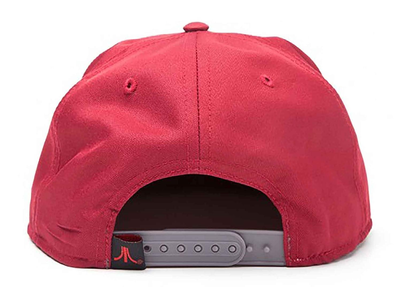Atari Casquette De Baseball Classic Logo Nouveau Officiel Retro Gamer Rouge