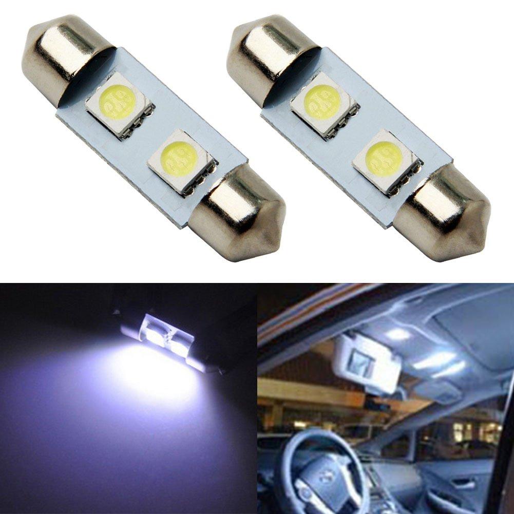 Taben 31/mm 3,2/cm 5050/2SMD siluro mappa interni lampadina LED a luce bianca DE3175/DE3021/DE3022/DE3023/7065/12/V confezione da 2