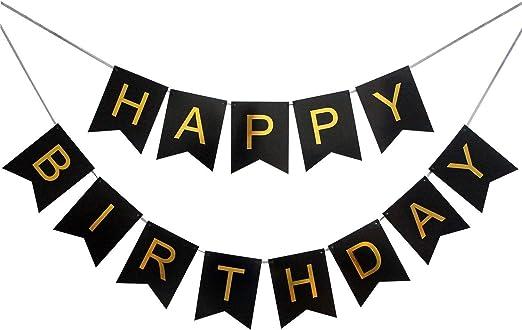 Amazon.com: Yingtang Lin - Pancarta de feliz cumpleaños ...