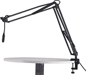 K&M 23850 Microphone Desk Arm - Black