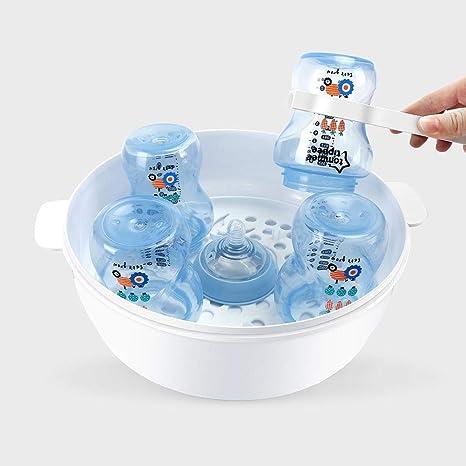 Caja de desinfección de biberones de microondas para bebés Caja de ...