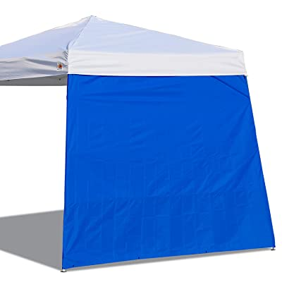 ABCCANOPY Canopy Side Wall for 10'x 10' Slant Leg Canopy Tent, 1 Pack Sidewall Only, Blue : Garden & Outdoor
