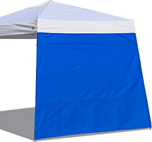ABCCANOPY Canopy Side Wall for 10'x 10' Slant Leg Canopy Tent, 1 Pack Sidewall Only, Blue