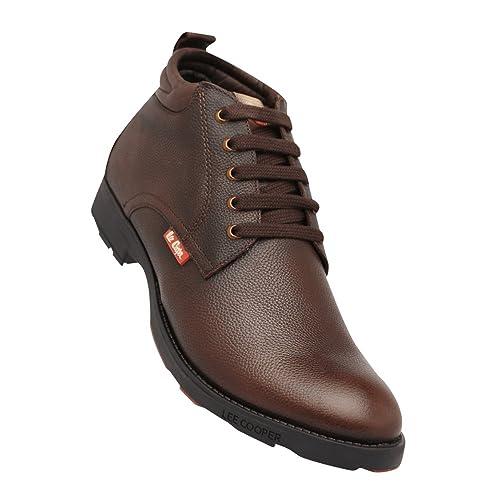 Buy Lee Cooper Men's Brown P1 Boots - 6