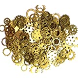 ASVP Shop® Steampunk Cyberpunk Watch Parts Vintage Gears Wheels Cogs Jewellery Making Crafts Art