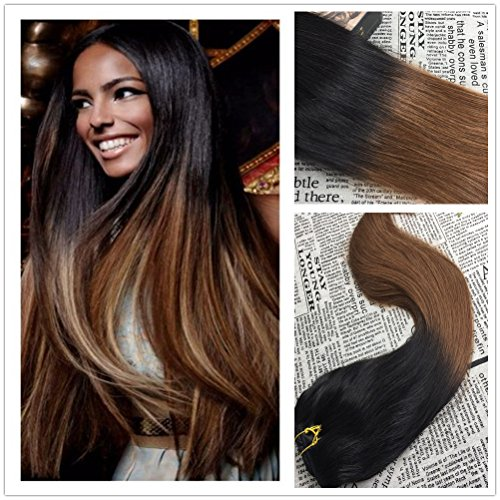 Moresoo Natural Chocolate Straight Extensions product image