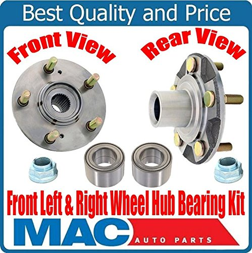 (2) New FRONT Wheel Bearing With Hub Kits for Acura 3.5RL 96-04 & 3.2TL 96-98