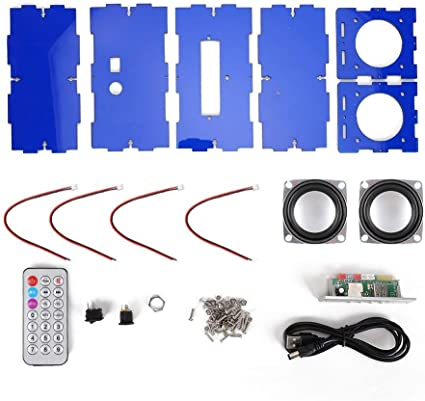 Boquite Kit de Altavoces, Bluetooth DIY MP3 Music Pack Sonido ...