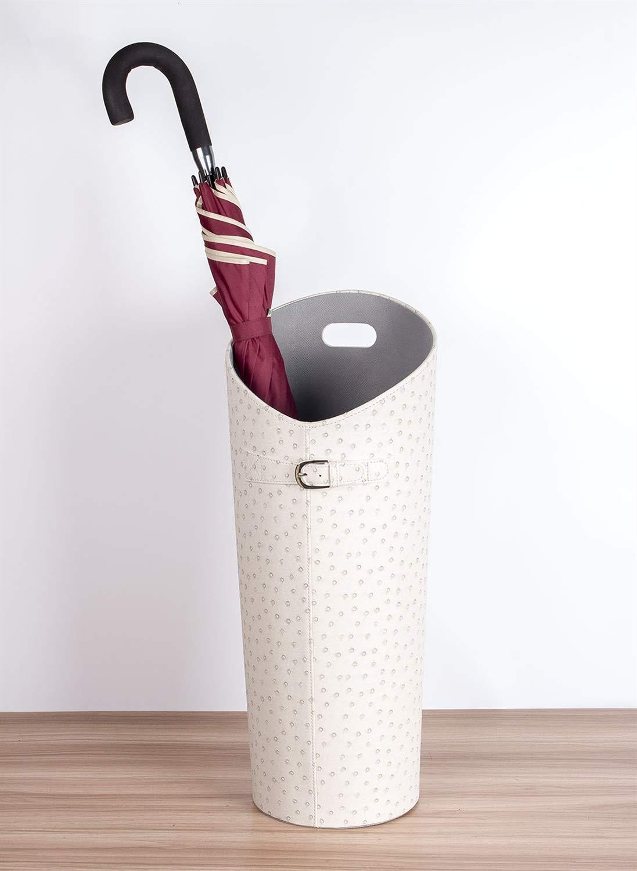 Amazon.com: Soporte para paraguas blanco para bastones o ...