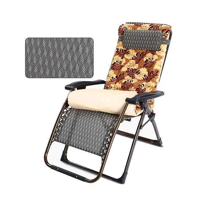 Amazon.com: Silla reclinable plegable para patio, jardín ...