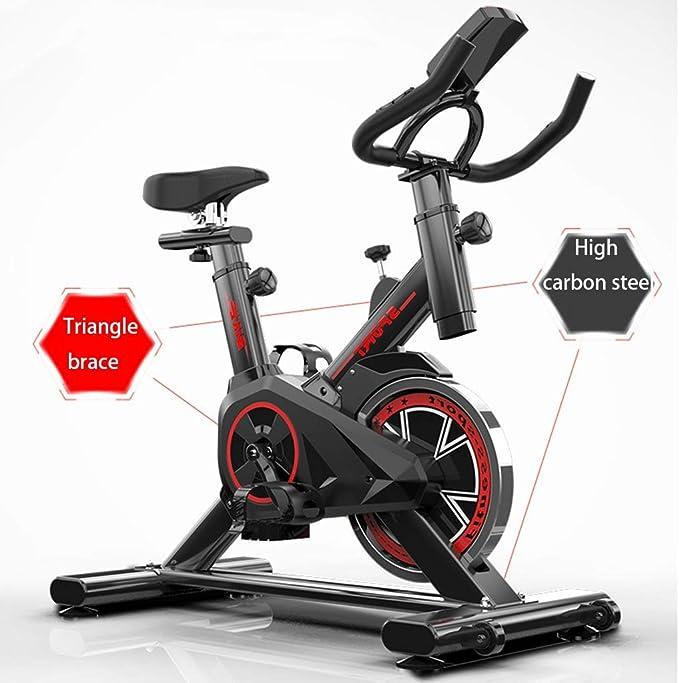 LJMG Bicicletas estáticas y de Spinning Bicicleta Estacionaria ...