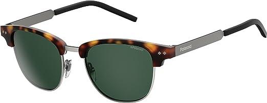 Polaroid PLD 1027/S UC N9P 51 gafas de sol, Marrón (Matt Havana/Green Pz), Unisex-Adulto